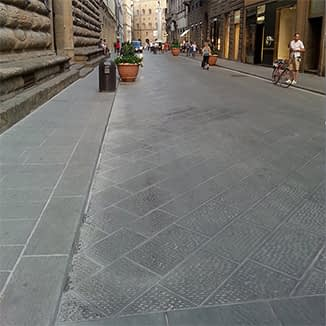 Basalt & Sandstone Florentine Bluestone