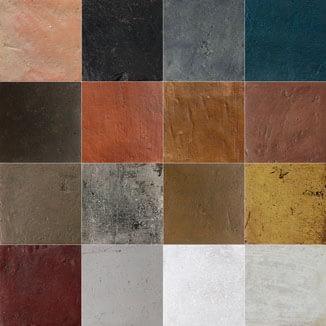 Antigua Terracotta Colors