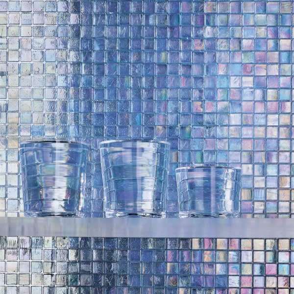 SICIS Pool Rated Glimmer Mosaics