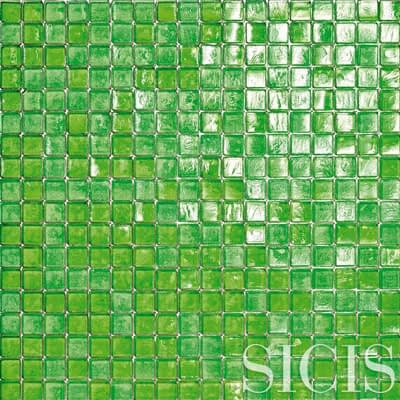 SICIS Pool Rated Waterglass MINTLEAVES 18